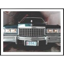 Dali's Cadillac Poster