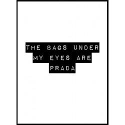 Prada Bags Poster