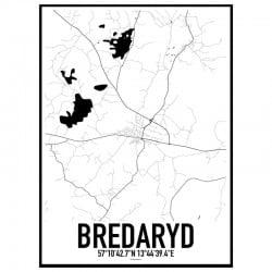 Bredaryd Karta
