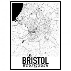 Bristol Karta