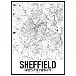 Sheffield Karta