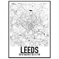 Leeds Karta