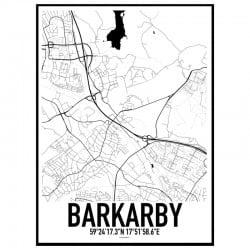 Barkarby Karta