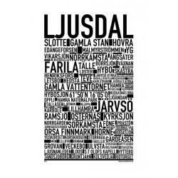 Ljusdal Poster