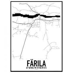 Färila Karta