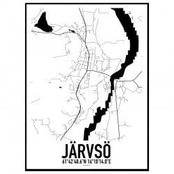Järvsö Karta