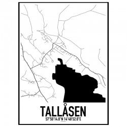 Tallåsen Karta
