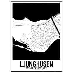 Ljunghusen Karta