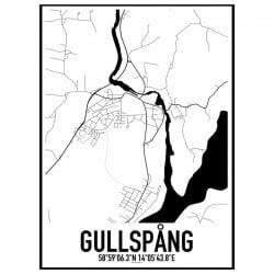 Gullspång Karta