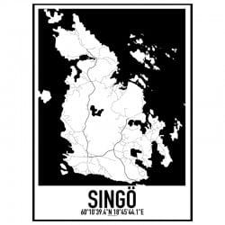 Singö Karta