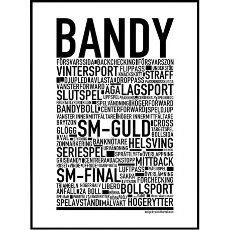 Bandy Poster