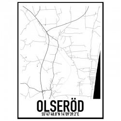 Olseröd Karta