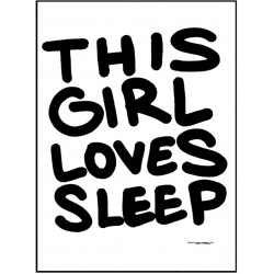 Loves Sleep Poster