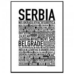 Serbien Poster