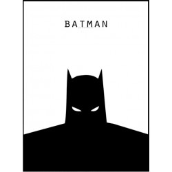 Batman Face Poster