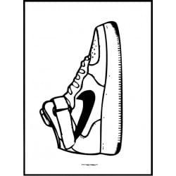 Nike AF1 Poster