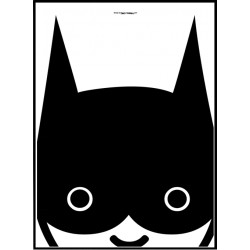 Kid Batman Poster