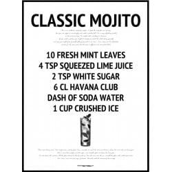 Classic Mojito Poster