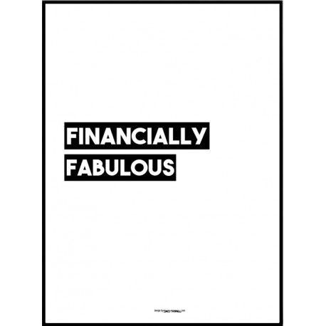 Financially Fab Poster