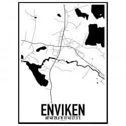 Enviken Karta