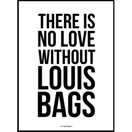 Louis Bags Poster