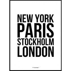 Städer Poster