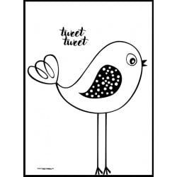 Tweet Tweet Poster