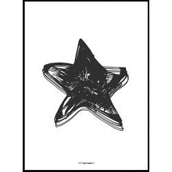 Abstrakt Star Poster