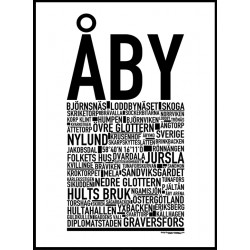 Åby Poster