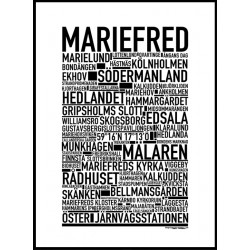 Mariefred Poster