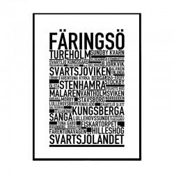 Färingsö Poster