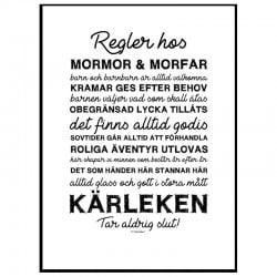 Mormor & Morfars Regler