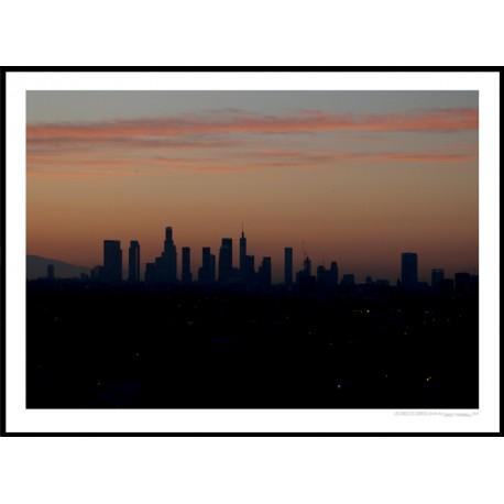 LA Sunrise Poster