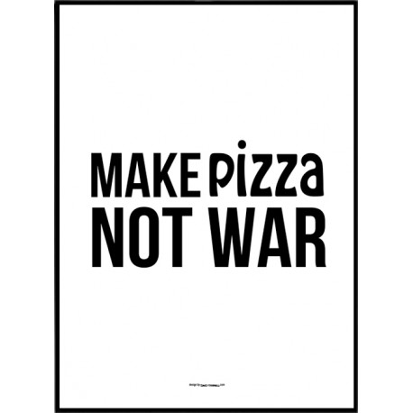 Make Pizza Poster