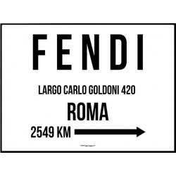 Fendi Poster