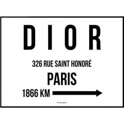 Dior Paris Poster