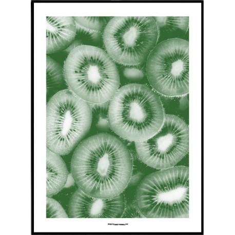 Green Kiwi Poster
