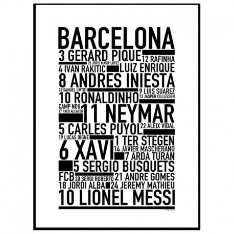 Barcelona FC Poster
