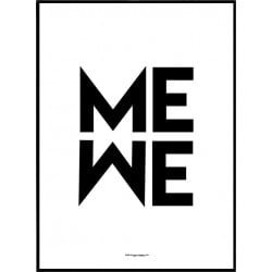 Me We Poster