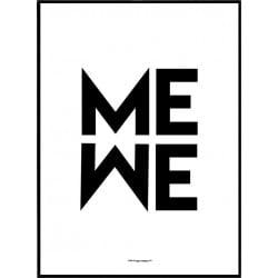 Me We Poster