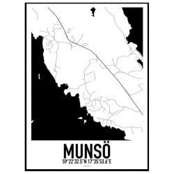 Munsö Karta