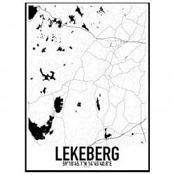 Lekeberg Karta