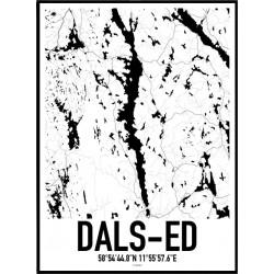 Dals-Ed Karta Poster