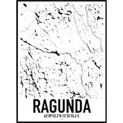 Ragunda Karta Poster