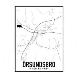 Örsundsbro Karta