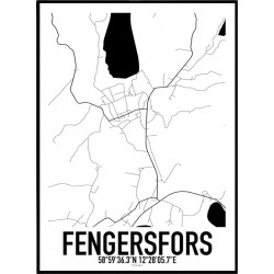Fengersfors Karta