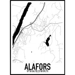 Alafors Karta