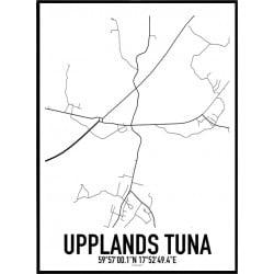 Upplands Tuna Karta