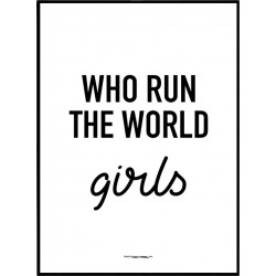 Run The World Poster
