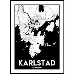 Karlstad Urban Poster